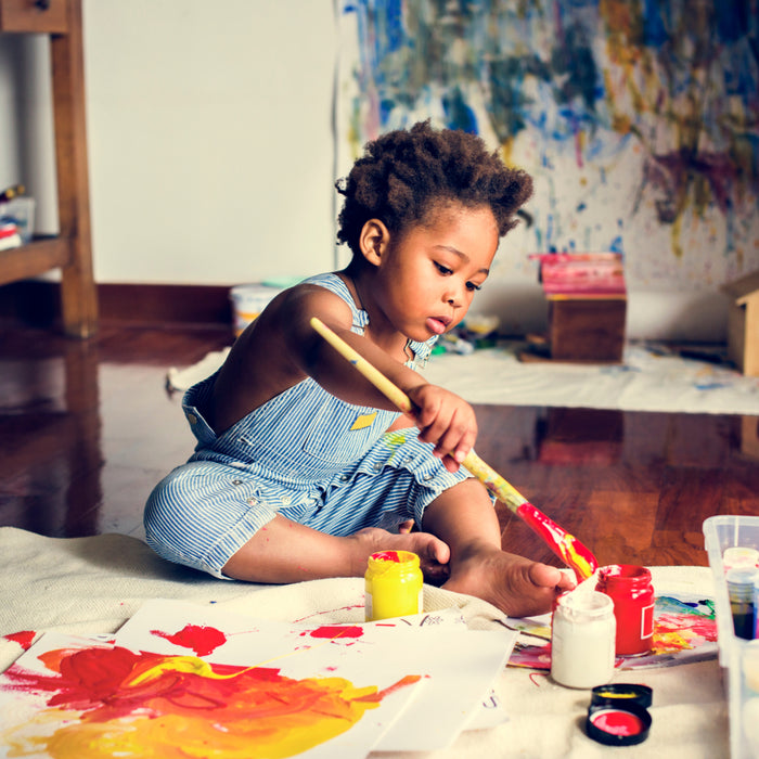 The Benefits of Art for Kids
