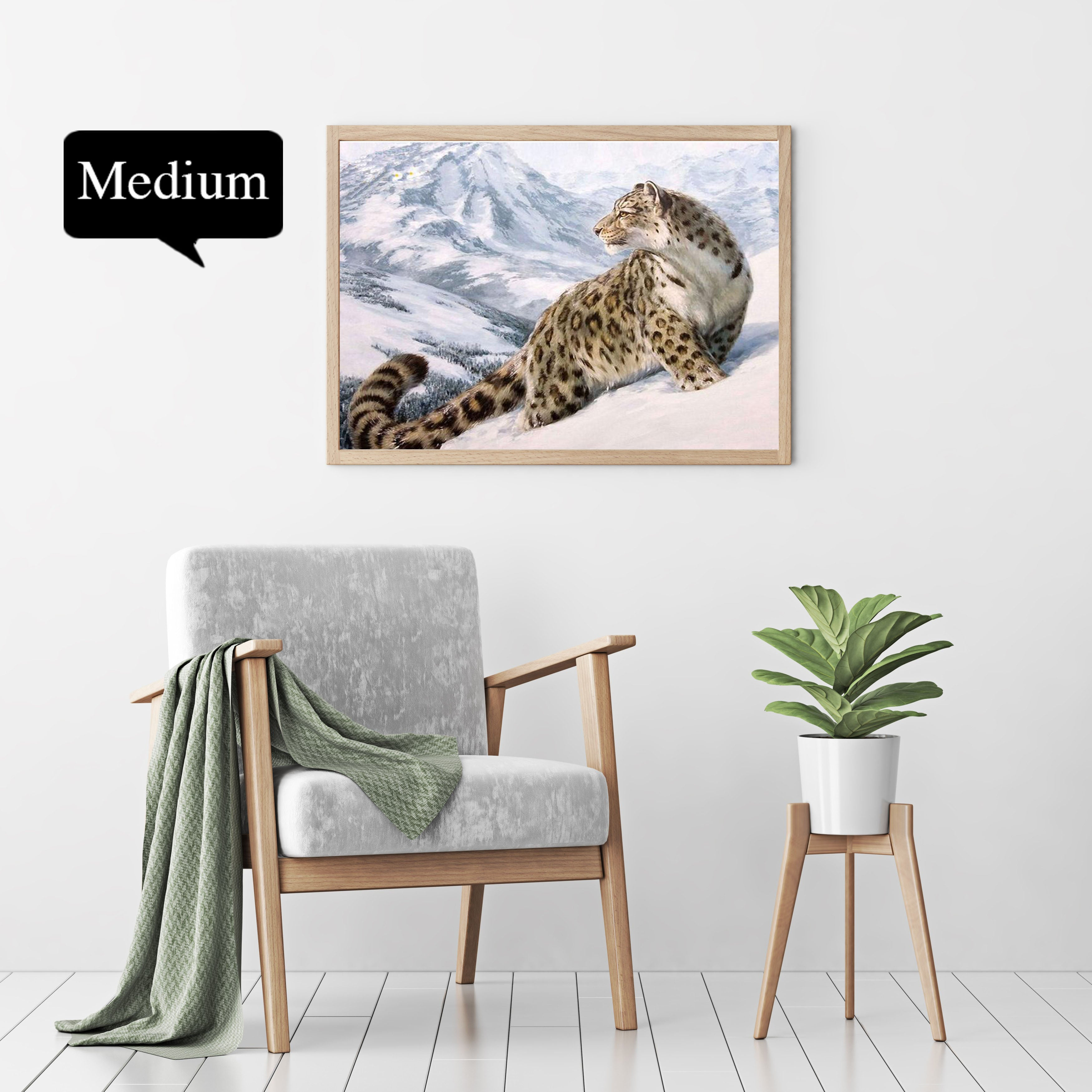 Snow Leopard - hey paint num
