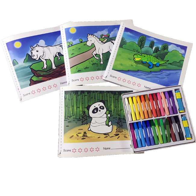 Oil Pastel Color for Kids