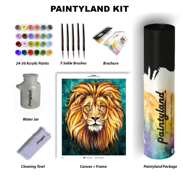 Paintyland Lion