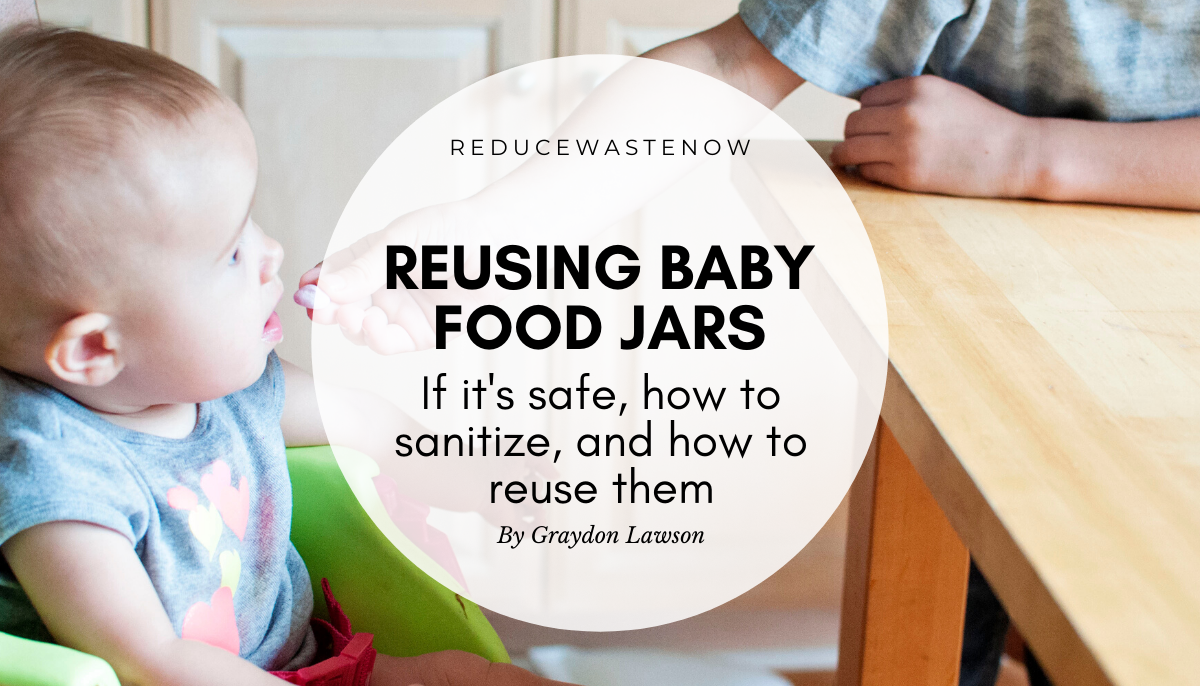 Are baby food jars reusable? (+11 different uses for baby food jars)