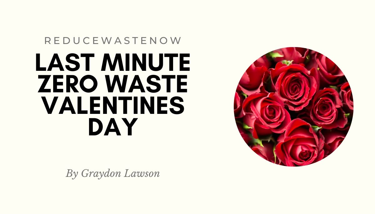 Zero Waste Valentines Day: Quick Ideas For The Last Minute