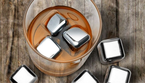 are stainless steel ice cubes safe