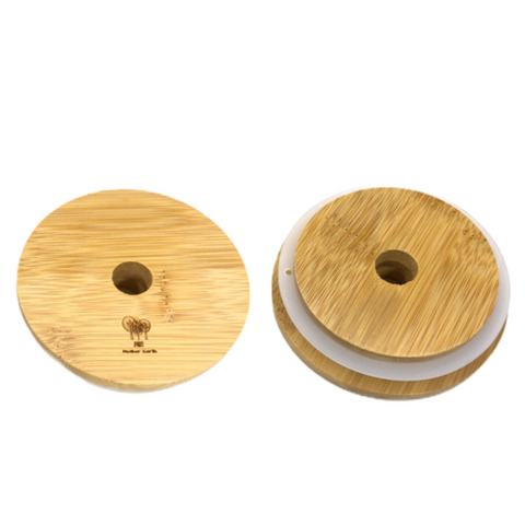 Bamboo Lids for Mason Jars