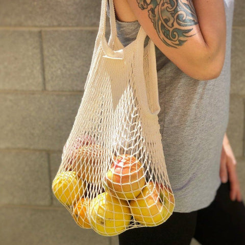Cotton Mesh Reusable Bag
