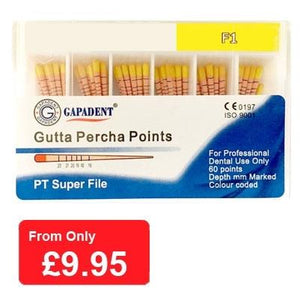 Gutta Percha Points F1 - 60 pcs (4119993778275)