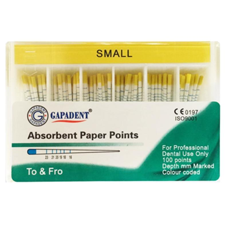 Paper Points Small Yellow 100 pcs (4119998365795)