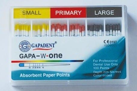 Paper Points Small, Primary, Large - 100 pcs (Assorted) (4120000102499)