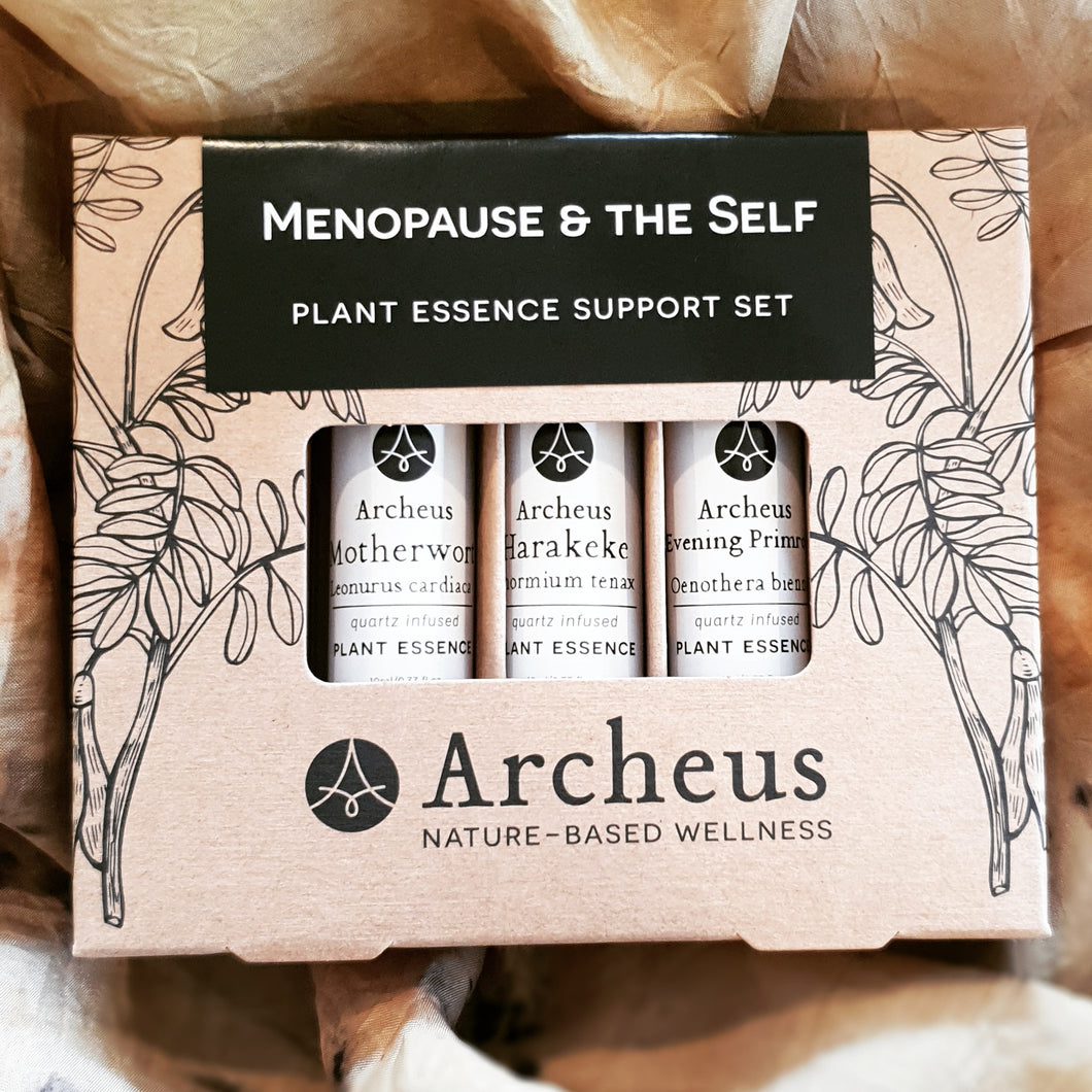 Menopause & the Self Plant Essence Support Set