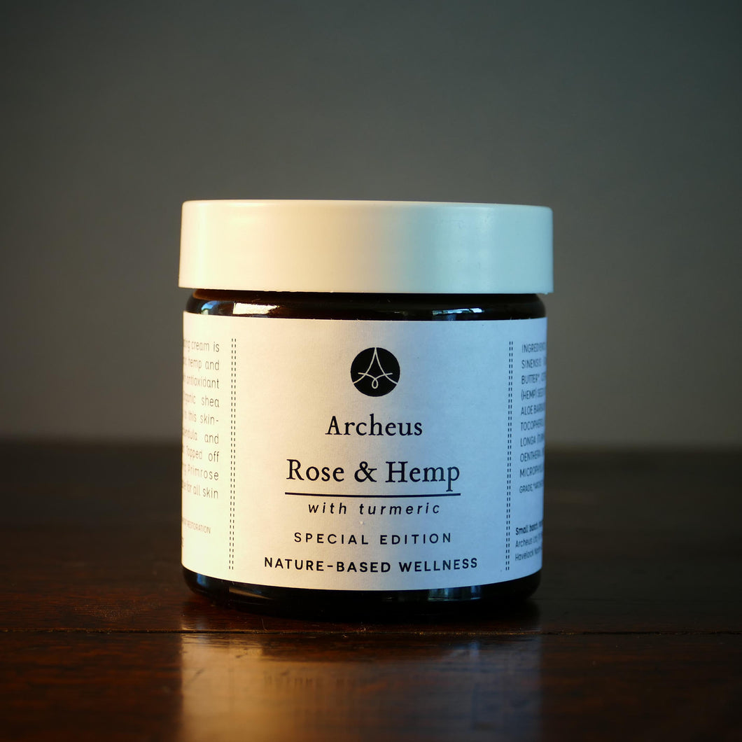 Rose & Hemp Face Cream (formerly Calendula & Rose)