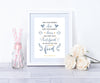 Keep Your Friends Close Personalised Print