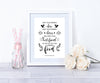 Keep Your Friends Close Personalised Foil Print