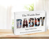 Personalised Worlds Best Daddy Acrylic Photo Block
