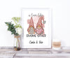 A Love Like Gnome Other Personalised Print