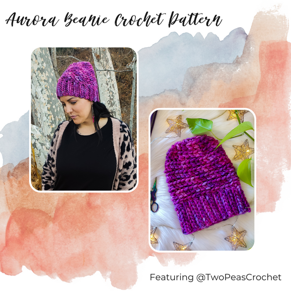 PATTERN - crochet - The Aurora Beanie