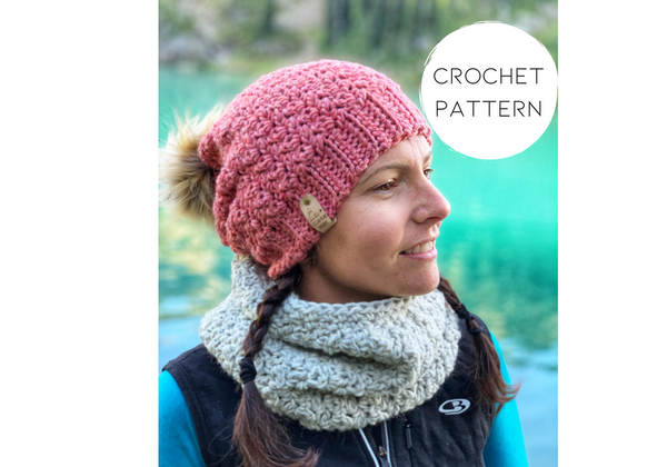 PATTERN - Crochet - The Winter Rose Cowl