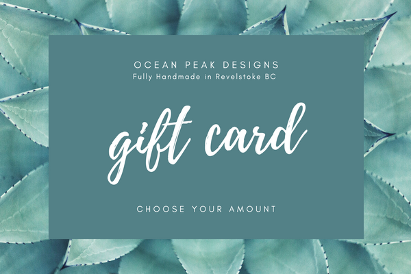 Ocean Peak Designs - Gift Card