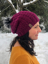 Load image into Gallery viewer, Winter Rose Beanie - Custom Order