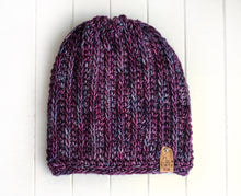 Load image into Gallery viewer, Fresh Tracks Beanie - Adult - Lotus