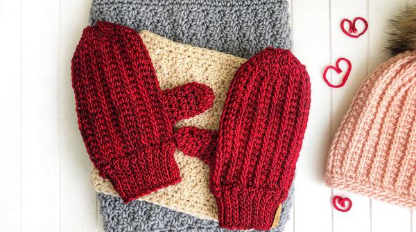 Fresh Tracks Mittens - Mens & Women's - Custom Order