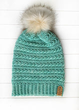 Load image into Gallery viewer, Snowdrops Beanie - Adult - Custom Order