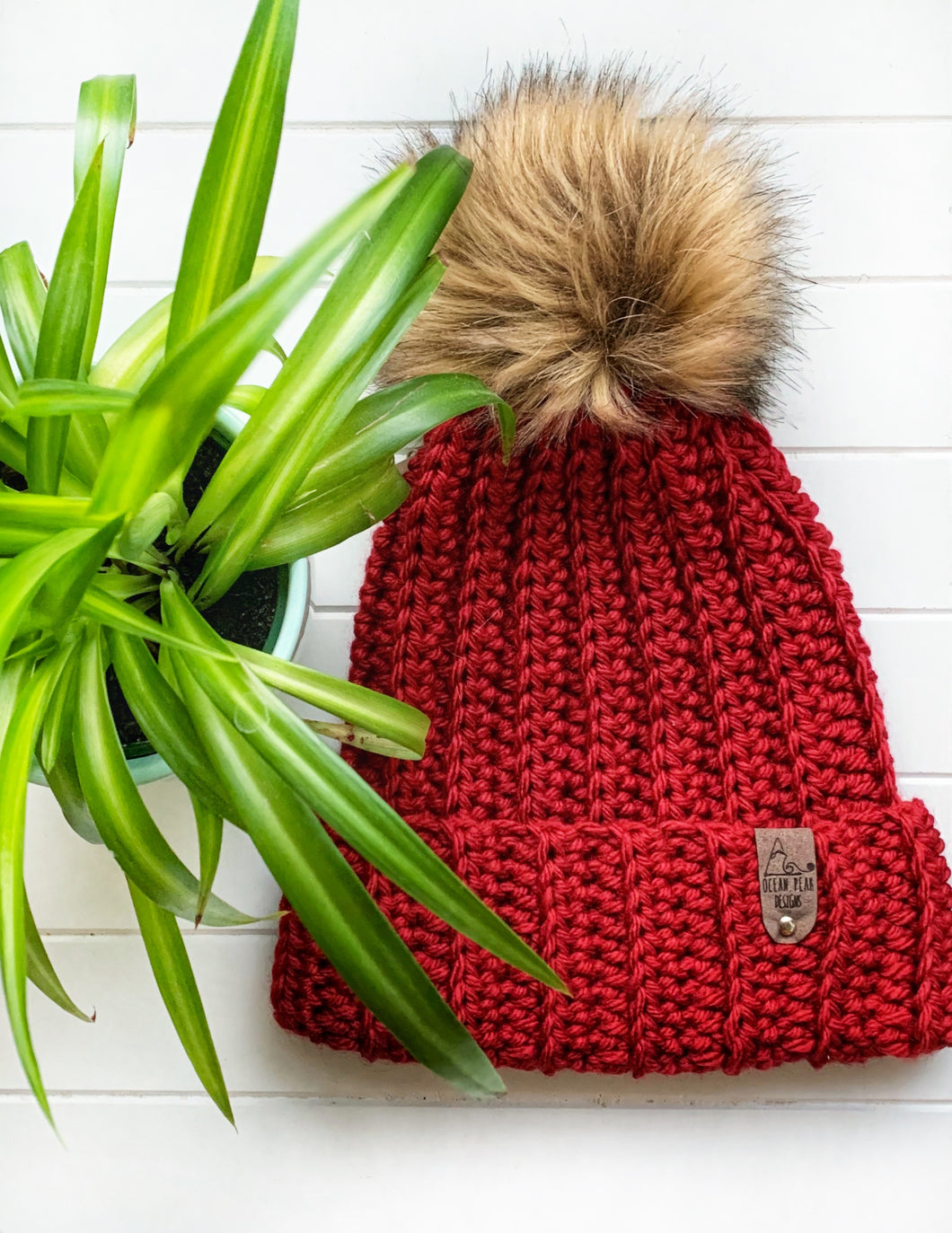 Jessie Beanie - Adult - School Uniform Red