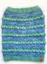 Load image into Gallery viewer, Cosmic Cowl - Aquamarine & Water Green