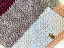 Load image into Gallery viewer, Little Ombré Merino Blanket - Soft Pink