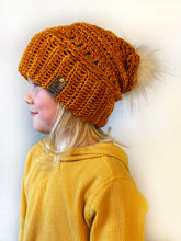 Load image into Gallery viewer, PATTERN - crochet - The Revelstoke Double Brim Beanie