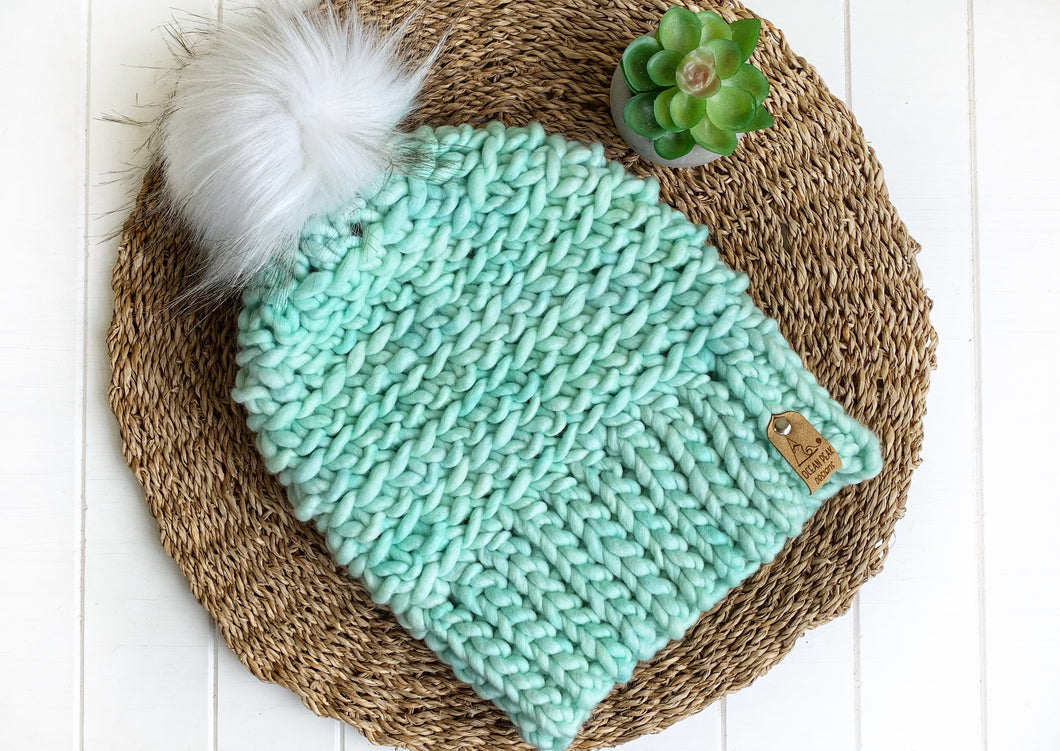 Luxed Aurora Beanie - Adult - Cucumber