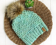 Load image into Gallery viewer, Luxed Aurora Beanie - Child - Cucumber