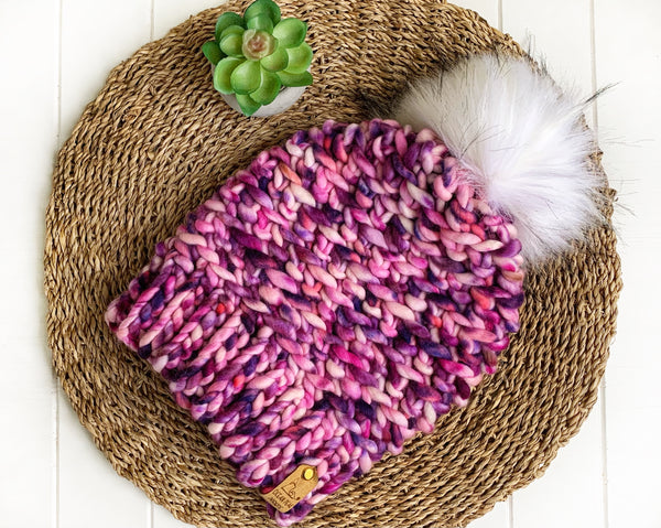 Luxed Aurora Beanie - Toddler - Blueberry Cream