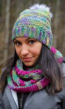 Load image into Gallery viewer, Snowdrops Beanie - Adult - Indiecita
