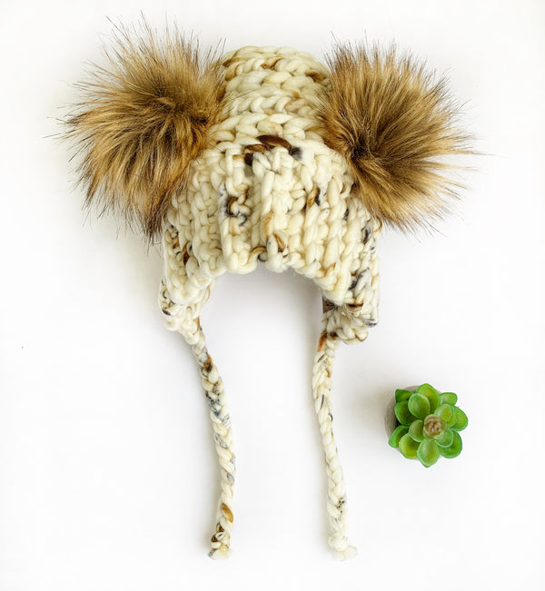 Luxed Bumble Bear Hat - Custom Order