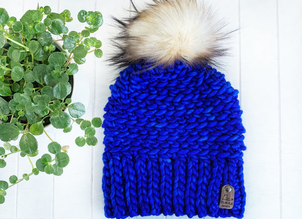 Luxed Aurora Beanie - Adult - Matisse Blue