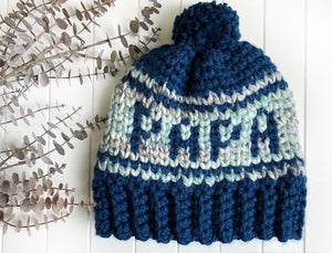 Papa Beanie - Adult Large