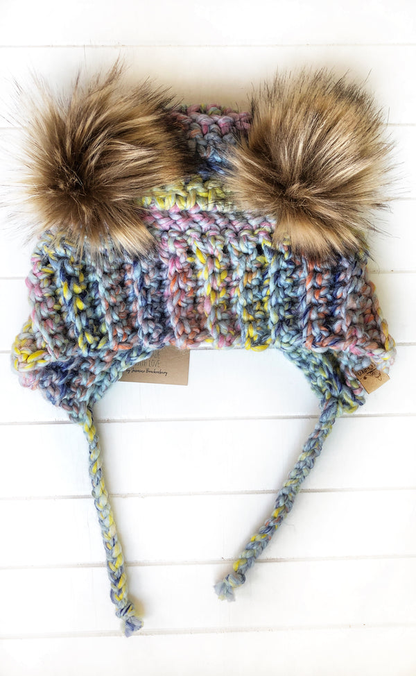 Bumble Bear Hat - Custom Order
