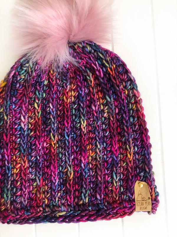 PATTERN - crochet - The Fresh Tracks Beanie