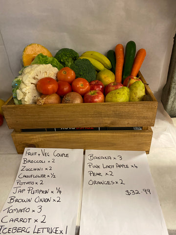 Couple Fruit and Vegetable Box
