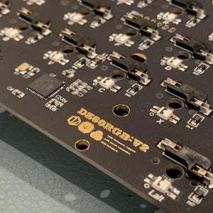 Dz60RGB Arrow V2  PCB (มีลูกศร / Shift 1.75u / USB C)