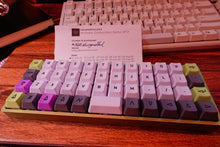 Load image into Gallery viewer, [BUILT] OLKB Planck v6 Hotswap + Alps Plate + Caps