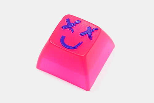 [Artisan Keycap] MITO X HOT KEYS PROJECT BUCKET HEAD – DROP EXCLUSIVE - SA R4 LASER PINK  คีย์แคปงานฝีมือ Resin