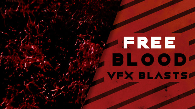 FREE: Stylized Blood Bursts