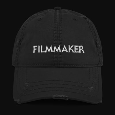 FILMMAKER Distressed Dad Hat