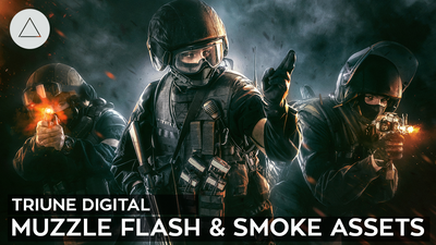 Muzzle Flash & Smoke VFX Assets