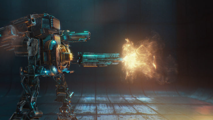Extinction: Sci-Fi Weapons FX (1080)