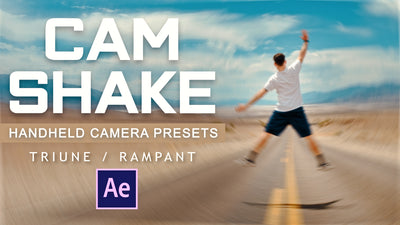 CAM SHAKE: Handheld Camera Presets (After Effects)