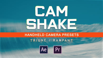 CAM SHAKE: Handheld Camera Preset Bundle