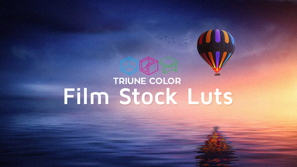 Triune Color: Film Stock LUTs