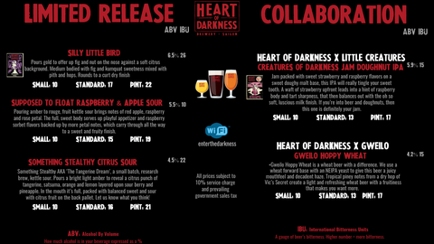 collaboration beers heart of darkness brewery in singapore